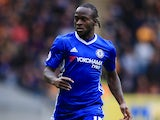 Victor Moses in action for Chelsea on October 1, 2016