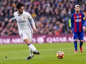 Team News: Isco starts ahead of Gareth Bale
