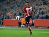 Ryan Bertrand in action during the Europa League game between Southampton and Hapoel Be'er Sheva on December 8, 2016