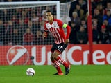 Virgil Van Dijk in action during the Europa League game between Southampton and Hapoel Be'er Sheva on December 8, 2016
