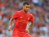 Kevin Stewart in action for Liverpool on August 6, 2016