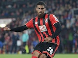 Lewis Grabban in action for Bournemouth on September 20, 2016