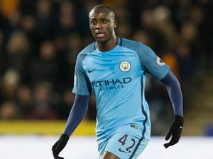 Manchester City midfielder Yaya Toure in action during his side's Premier League clash with Hull City at the Etihad Stadium on Boxing Day