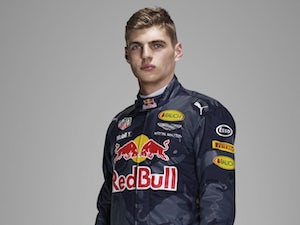 Max Verstappen poses for a photo on January 2, 2017