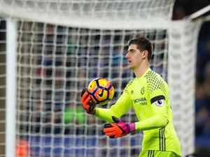 Courtois tells Spurs fans to make more noise