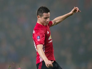 Manchester United midfielder Ander Herrera in action during his side's FA Cup fifth round clash with Blackburn Rovers at Ewood Park on February 19, 2017