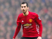 Manchester United winger Henrikh Mkhitaryan in action during his side's FA Cup fifth round clash with Blackburn Rovers at Ewood Park on February 19, 2017