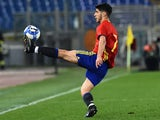Marco Asensio in action during the friendly between Italy under-21s and Spain under-21s on March 27, 2017