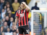 Jack Wilshere looks deflated during the Premier League game between Tottenham Hotspur and Bournemouth on April 15, 2017