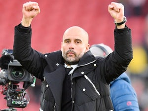 Guardiola wins Manager of the Month award