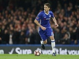 Chelsea's Nemanja Matic during the FA Cup quarter-final against Manchester United on March 13, 2017