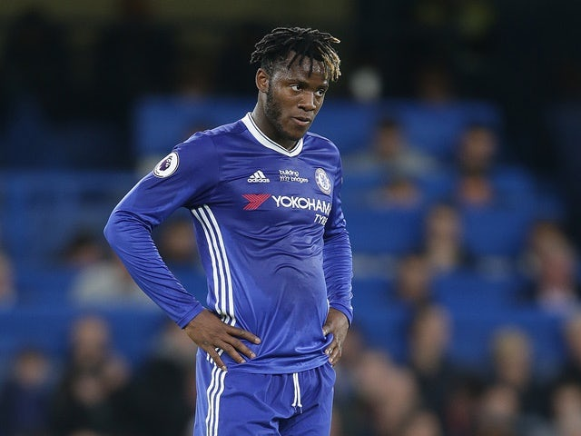 Chelsea's Michy Batshuayi during the Premier League match against Watford on May 15, 2017