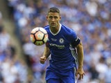 Chelsea's Gary Cahill during the FA Cup final against Arsenal on May 27, 2017