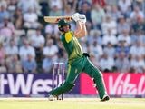 AB de Villiers of South Africa during the T20 against England on June 21, 2017
