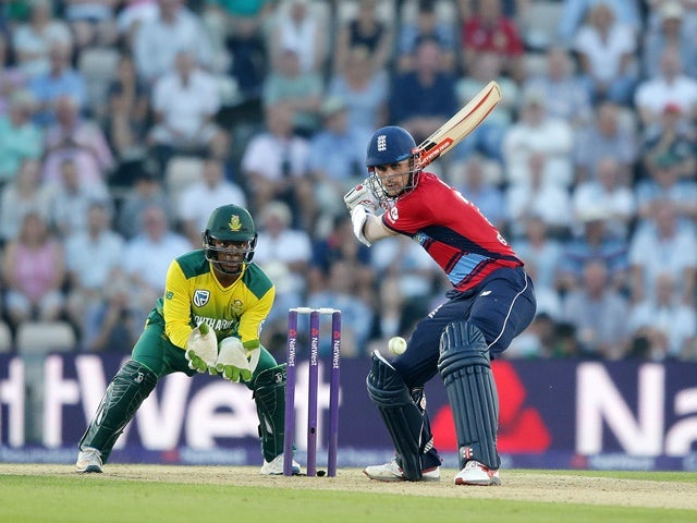 Alex Hales of England during the T20 against South Africa on June 21, 2017