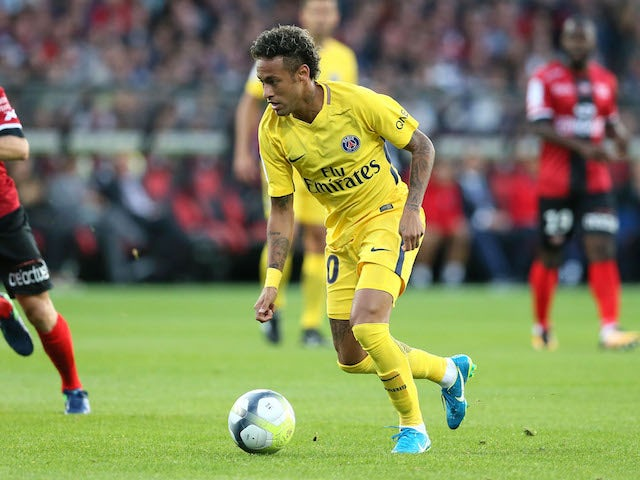 Neymar Out Of PSG Squad To Face Montepellier Through Injury