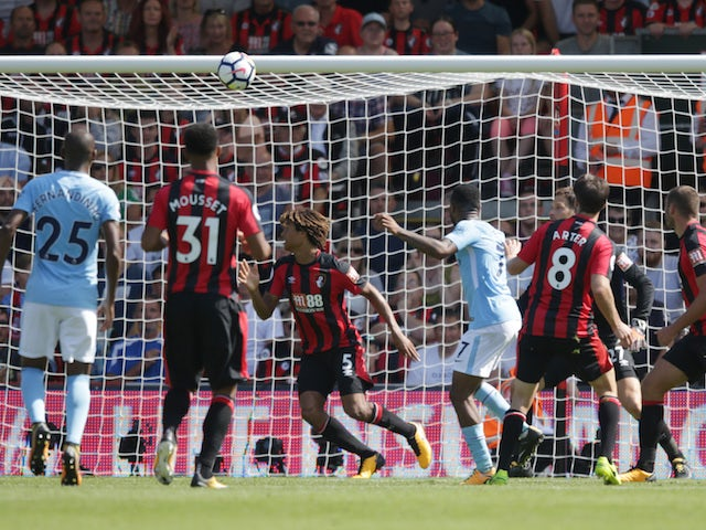 Result: Sterling nets late as City beat Bournemouth