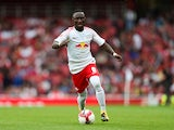 RB Leipzig midfielder Naby Keita in action during the Emirates Cup match with Sevilla in July 2017