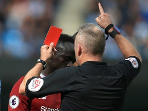 Mane red card appeal rejected by FA
