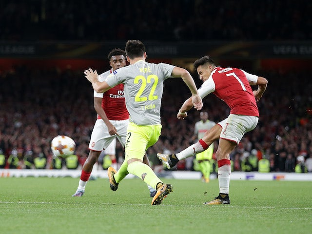 Result: Sanchez scores in Arsenal recovery