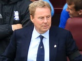 Harry Redknapp in charge of Birmingham City in April 2017