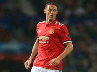 Nemanja Matic in action during the Champions League game between Manchester United and Basel on September 12, 2017