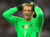 Germany goalkeeper Manuel Neuer in action during his side's Euro 2016 semi-final defeat to France