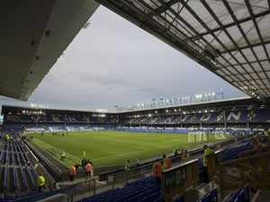 A general shot of Goodison Park before Everton's Europa League clash with Apollon Limassol on September 28, 2017