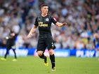 Ciaran Clark in action for Newcastle United during their Premier League clash with Brighton & Hove Albion