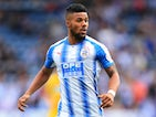 Elias Kachunga in action for Huddersfield Town during pre-season in 2017