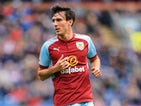 Burnley midfielder Jack Cork in action during his side's Premier League clash with Crystal Palace on September 10, 2017