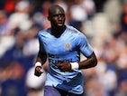 Mohamed Diame in a Newcastle United shirt during 2017-18 pre-season