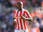 Saido Berahino in action for Stoke City during a Premier League clash with Liverpool in 2016-17