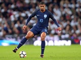 Ruben Loftus-Cheek in action during the international friendly between England and Germany on November 10, 2017
