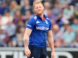 Ben Stokes in action for England in September 2016