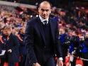Belgium manager Roberto Martinez on November 9, 2016