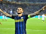 Mauro Icardi in action for Inter Milan in September 2017