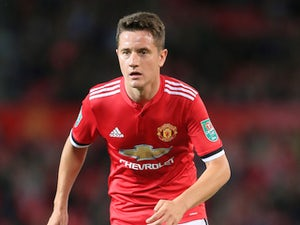 Manchester United midfielder Ander Herrera in action during his side's EFL Cup clash with Burton Albion