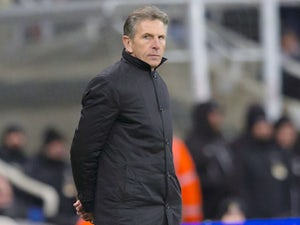 Claude Puel in charge of Leicester City on December 9, 2017