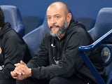 Wolverhampton Wanderers manager Nuno Espirito Santo at the EFL cup against Manchester City on October 24, 2017