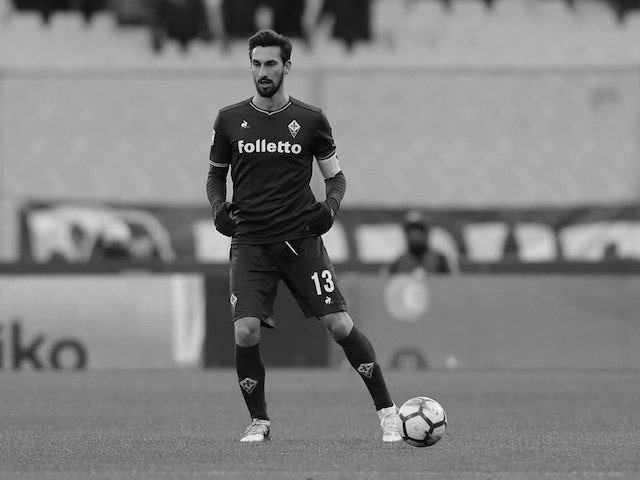 Italian footballer Davide Astori found dead in hotel