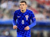Mateo Kovacic in action for Croatia in June 2016