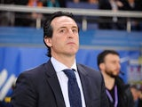 Unai Emery pictured on April 16, 2018