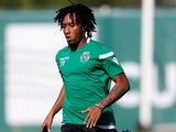 Gelson Martins in training for Sporting Lisbon on October 30, 2017