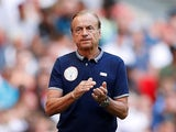 Nigeria manager Gernot Rohr on June 2, 2018
