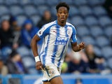 Terence Kongolo in action for Huddersfield Town in the FA Cup on January 27, 2018