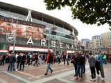 General view outside Arsenal's Emirates Stadium on August 12, 2018