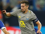 Hector Herrera in action for Porto in the Champions League on September 18, 2018