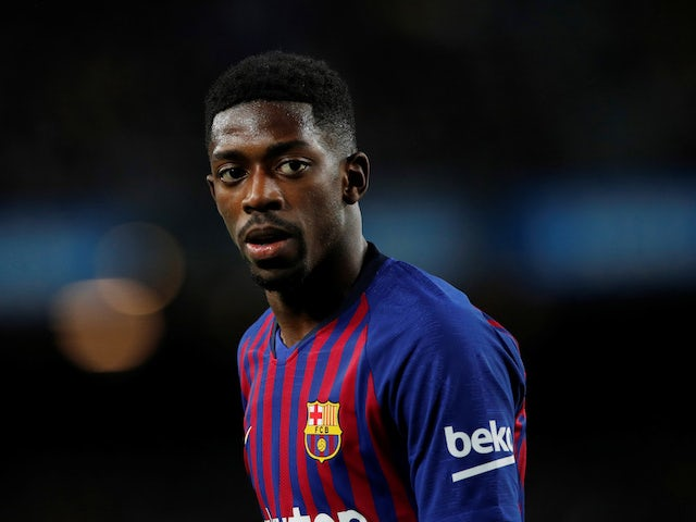 Barcelona suffer Dembele injury blow