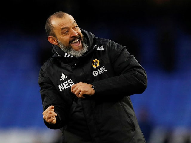 Wolves boss Nuno ready for 'biggest game in years' against Manchester United